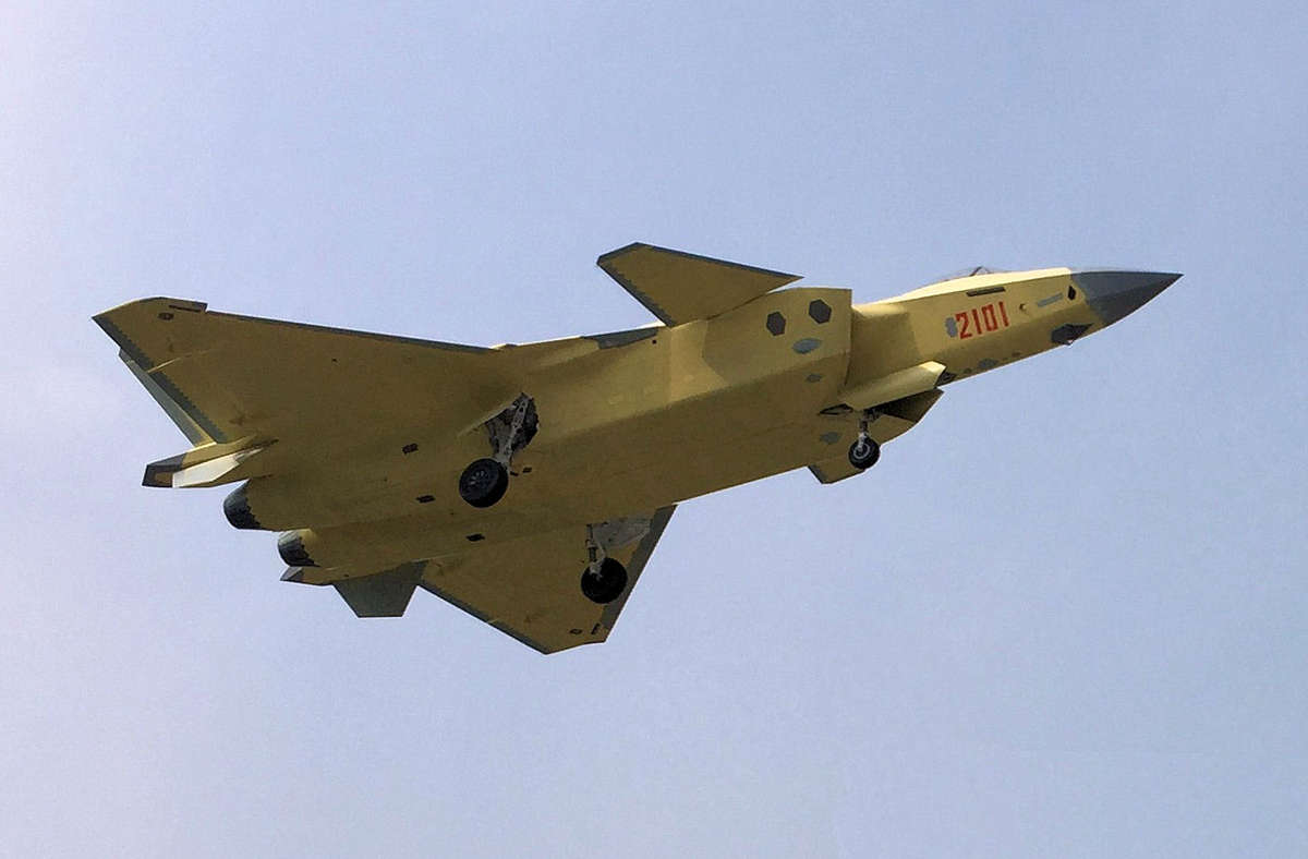 China should have an operation squadron of J-20 stealth