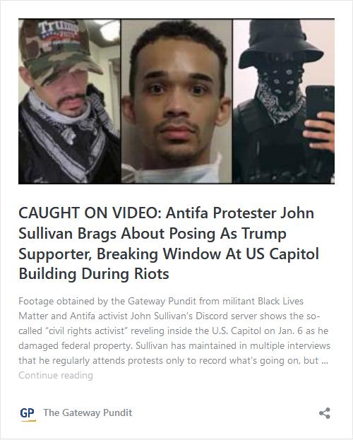 Brother of Arrested Antifa-BLM Activist John Sullivan Turned Him In! Image-502