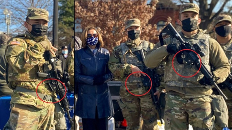 FBI Vetting National Guard Troops in DC Over Fears of 'Insider Attack' or Threat From Service Members Securing Biden Inauguration Image-571