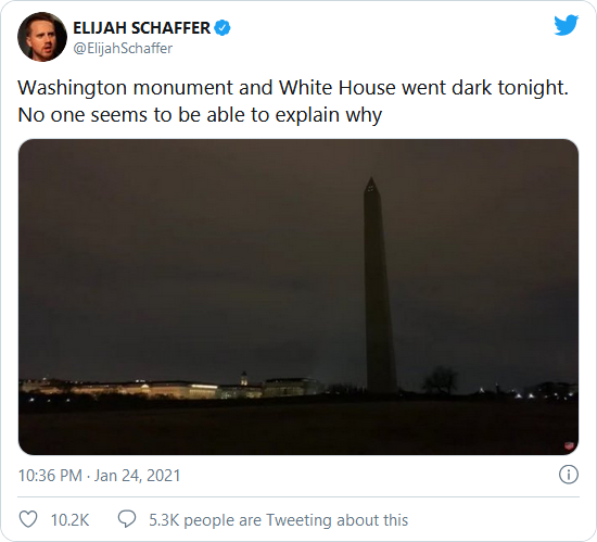 DC Blackout at White House & Washington Monument! Lights Go Out WITHOUT Explanation! NPS Probes! Image-783