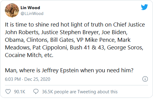 Attorney Lin Wood Claims Jeffrey Epstein Still Alive Image-8