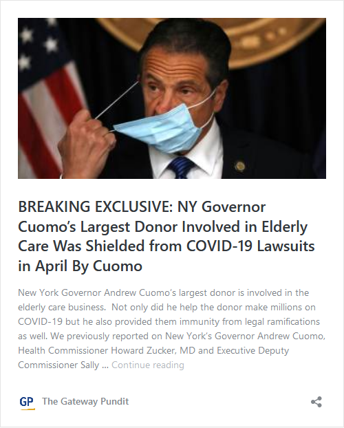 Governor Cuomo May Be In Trouble – Melissa DeRosa Is His Assistant Who Outed Him and Her Mother-in-Law, Audrey Strauss, Is Head of the DOJ's SDNY Image-408
