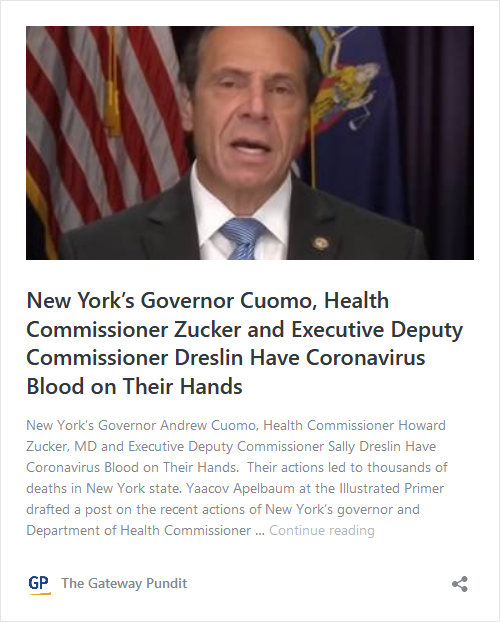 Governor Cuomo May Be In Trouble – Melissa DeRosa Is His Assistant Who Outed Him and Her Mother-in-Law, Audrey Strauss, Is Head of the DOJ's SDNY Image-409