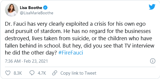 Fire Fauci is Trending on Twitter and It's Long Overdue Image-605