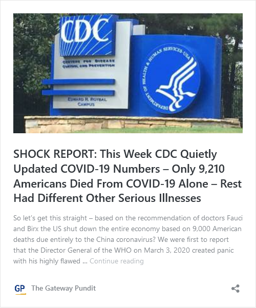 Biden Caught In Another Big Lie – Claims More Deaths from COVID than WWI, WWII and Vietnam Wars Combined – Simply Not True Image-613