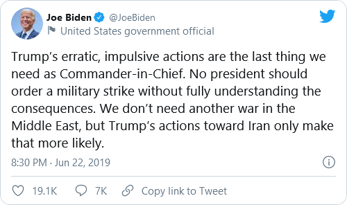 Biden, Psaki, And Harris Under Fire For Past Tweets Criticizing Trump's Military Actions Following New Syria Airstrikes Image-704