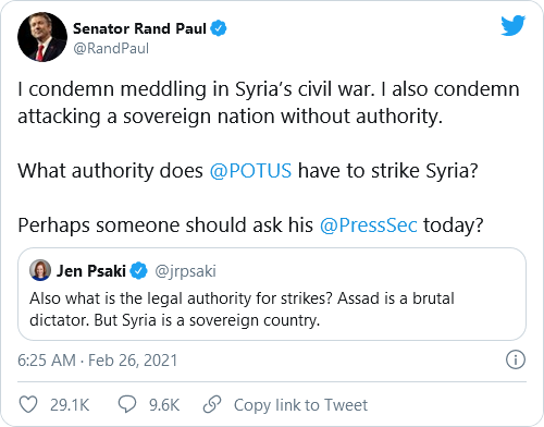 Biden, Psaki, And Harris Under Fire For Past Tweets Criticizing Trump's Military Actions Following New Syria Airstrikes Image-712
