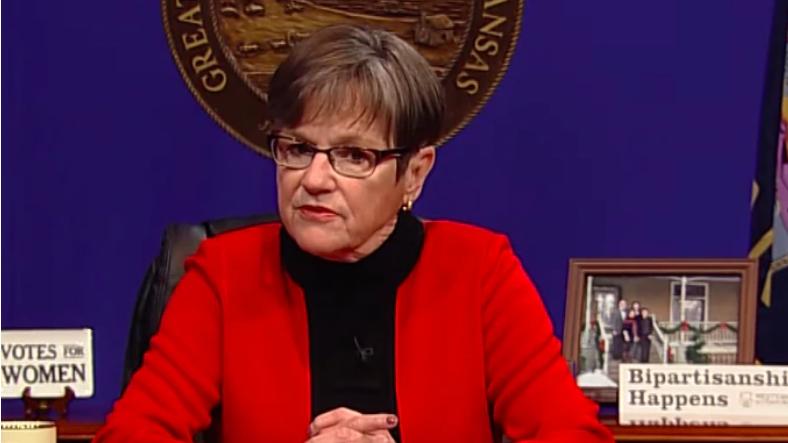 KS Governor Laura Kelly Folds to Big Business Pressure, Vetoes E-Verify