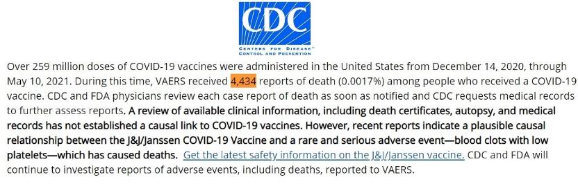 CDC Stats through May 10th, 2021 Image-842