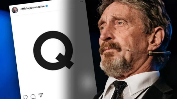 'Q' Clue Posted to John McAfee's Instagram Hours AFTER His Death Image-1082