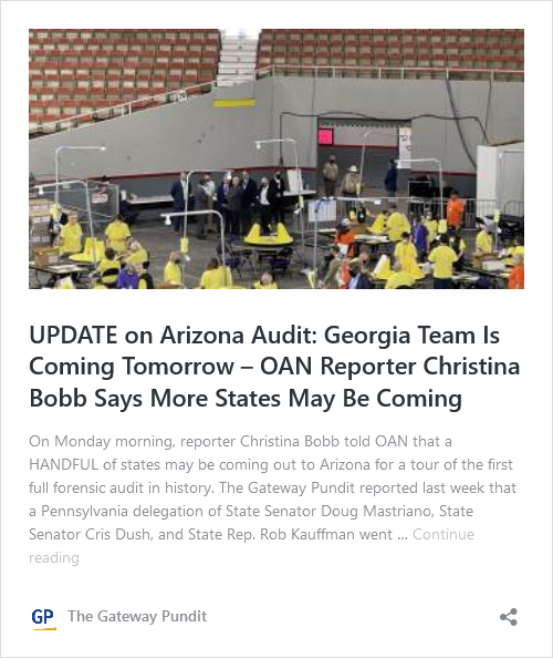 HUGE DEVELOPMENT: THREE DIFFERENT STATES Tour the Arizona Audit Floor- MORE Are Expected EVERY DAY THIS WEEK!  Image-374