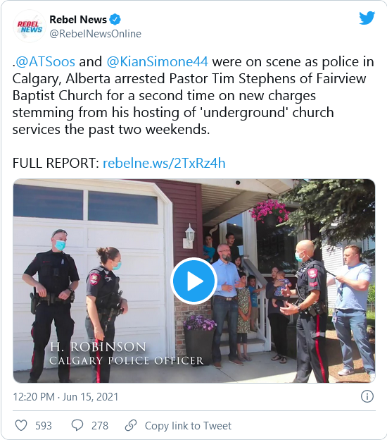 Canadian Pastor Released From Jail After Being Held For Nearly Three Weeks For The Crime Of Holding Outdoor Services  Image-174