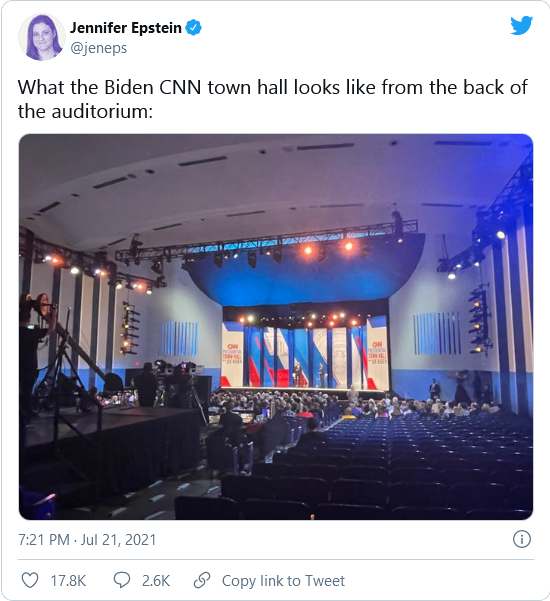 'Most Popular Ever' Joe Biden Gets Heckled and Can't Draw an Audience Image-1809