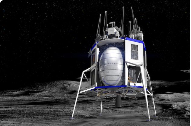 Bezos offers NASA $2 billion for moon mission contract Image-2079