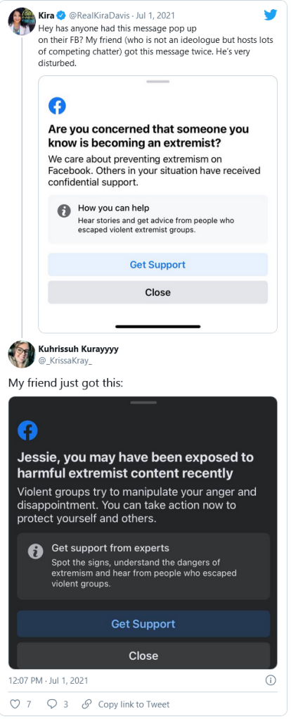 Facebook Rolls Out Weird 'You've Been Exposed To Extremist Content' Alerts Image-48