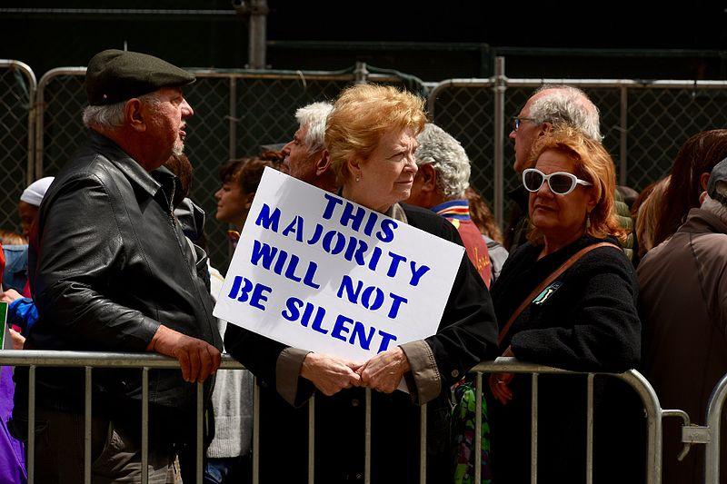 The Silent Majority is Going to Get Loud Ec322-iu