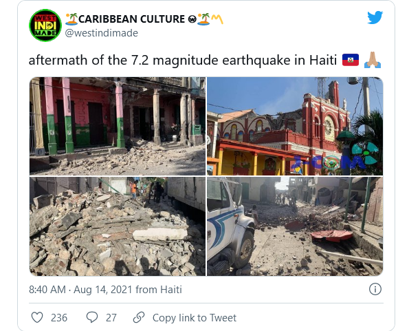 BREAKING: Massive Earthquake Hits Haiti Image-789