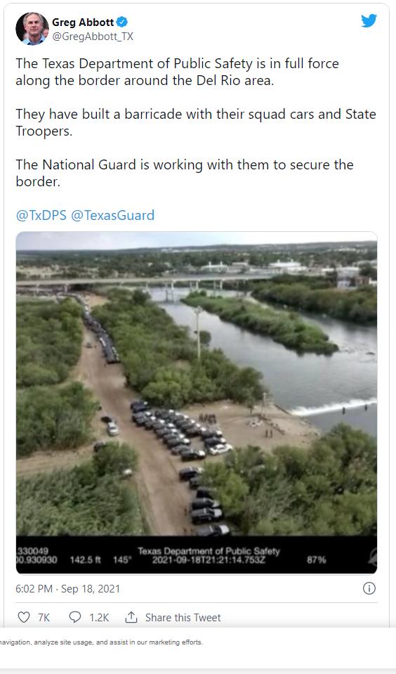 Texas Governor Sends Highway Patrol, National Guard to Block Migrants at Border Image-1507