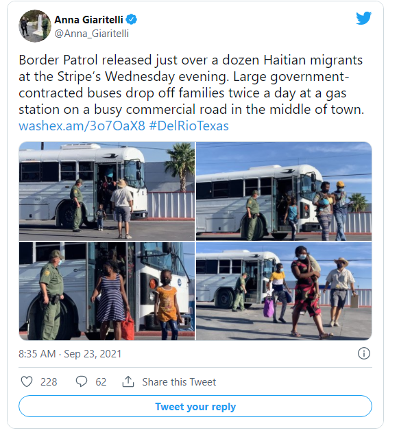 Feds Dumping Haitians at Texas Gas Station Image-1835