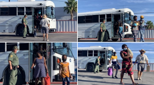 Feds Dumping Haitians at Texas Gas Station Image-1837