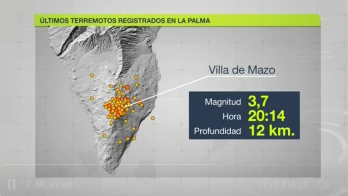 Over 115 earthquakes recorded in the south of La Palma Image-326